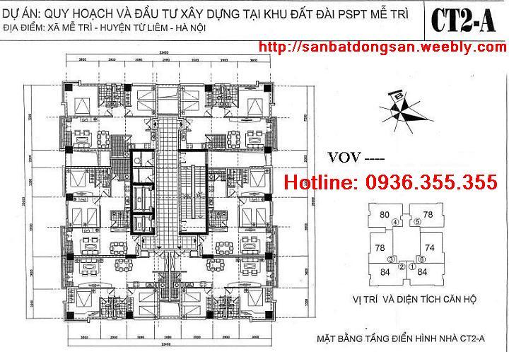 Ban chung cu VOV Me Tri gia re, ban chung cu Dai Phat Thanh Me Tri